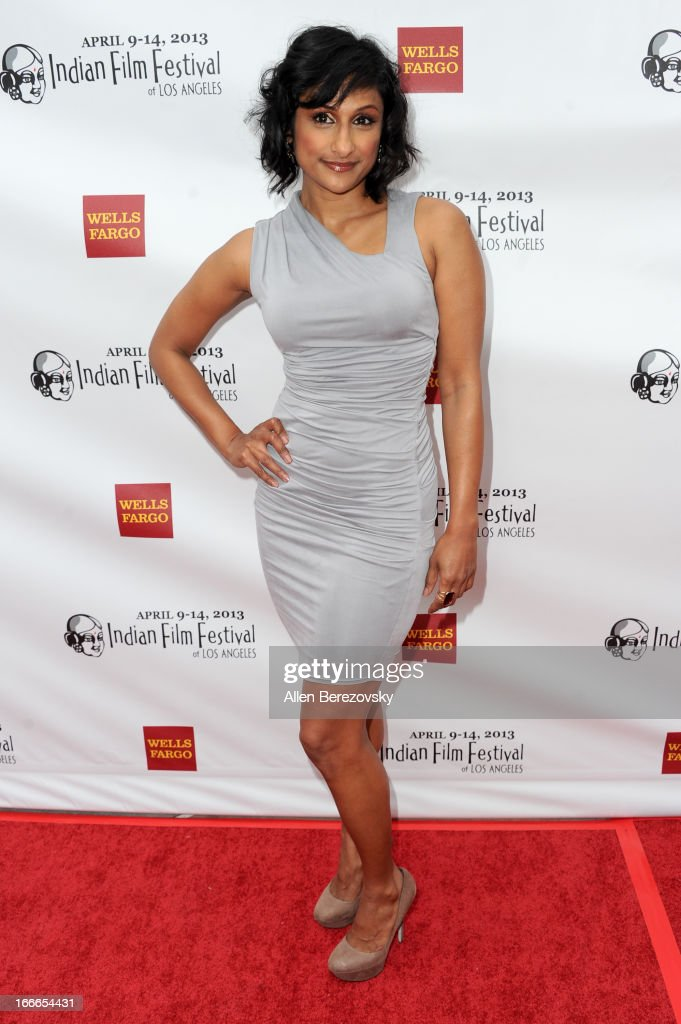 Actress Sarayu Rao attends the 11th Annual Indian Film Festival of Los Angeles Closing Night Gala premiere of 'Midnight's Children' at ArcLight Hollywood on April 14, 2013 in Hollywood, California.
