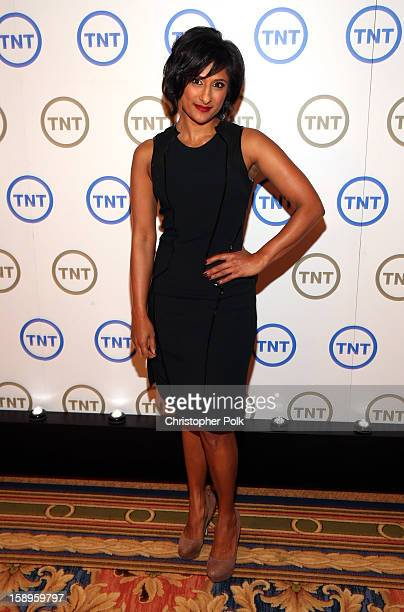 Actress Sarayu Rao of 'Monday Mornings' attends Turner Broadcasting's 2013 TCA Winter Tour at Langham Hotel on January 4 2013 in Pasadena California...