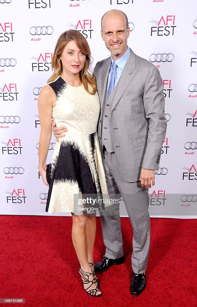 Actress <a gi-track='captionPersonalityLinkClicked' href=/galleries/search?phrase=Sasha+Alexander&family=editorial&specificpeople=215373 ng-click='$event.stopPropagation()'>Sasha Alexander</a> and director/actor <a gi-track='captionPersonalityLinkClicked' href=/galleries/search?phrase=Edoardo+Ponti&family=editorial&specificpeople=851141 ng-click='$event.stopPropagation()'>Edoardo Ponti</a> arrive at AFI FEST 2014 Presented By Audi - A Special Tribute To Sophia Loren at Dolby Theatre on November 12, 2014 in Hollywood, California.