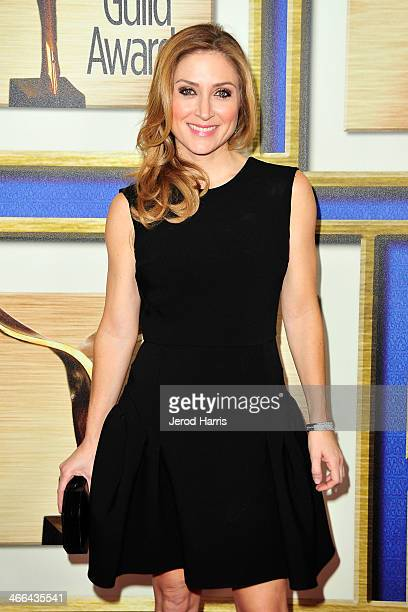 Actress Sasha Alexander arrives at the 2014 Writers Guild Awards LA Ceremony at JW Marriott Los Angeles at LA LIVE on February 1 2014 in Los Angeles...