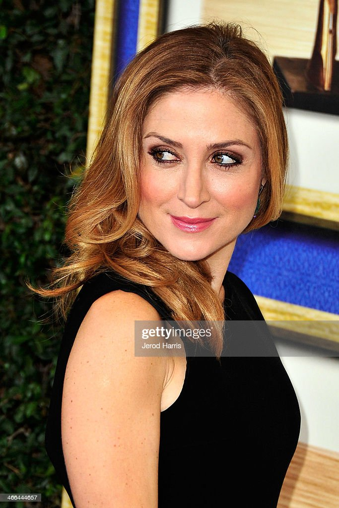 Actress <a gi-track='captionPersonalityLinkClicked' href=/galleries/search?phrase=Sasha+Alexander&family=editorial&specificpeople=215373 ng-click='$event.stopPropagation()'>Sasha Alexander</a> arrives at the 2014 Writers Guild Awards L.A. Ceremony at JW Marriott Los Angeles at L.A. LIVE on February 1, 2014 in Los Angeles, California.