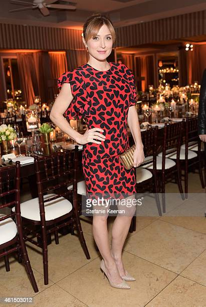 Actress Sasha Alexander attends ELLE's Annual Women in Television Celebration on January 13 2015 at Sunset Tower in West Hollywood California...