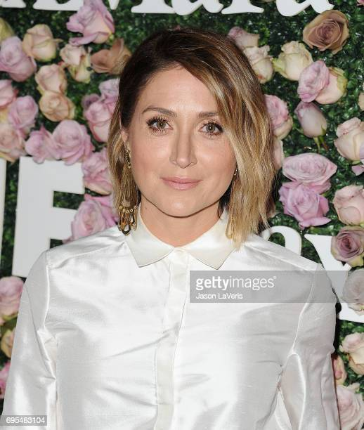 Actress Sasha Alexander attends Max Mara and Vanity Fair's celebration of Women In Film's Face of the Future Award recipient Zoey Deutch at Chateau...