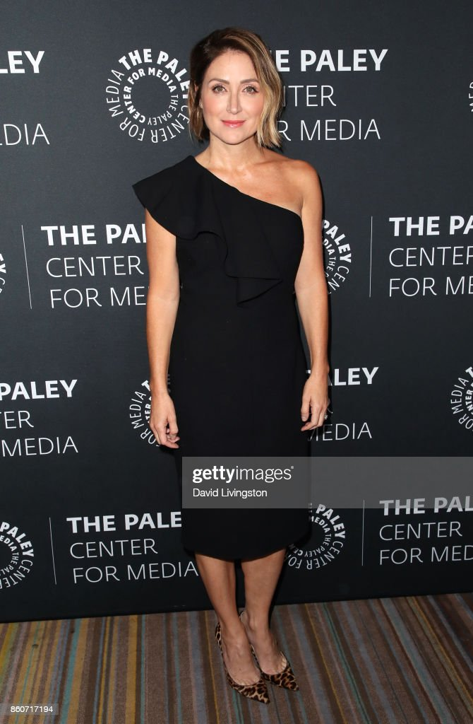 Actress Sasha Alexander attends Paley Honors in Hollywood: A Gala Celebrating Women in Television at the Beverly Wilshire Four Seasons Hotel on October 12, 2017 in Beverly Hills, California.