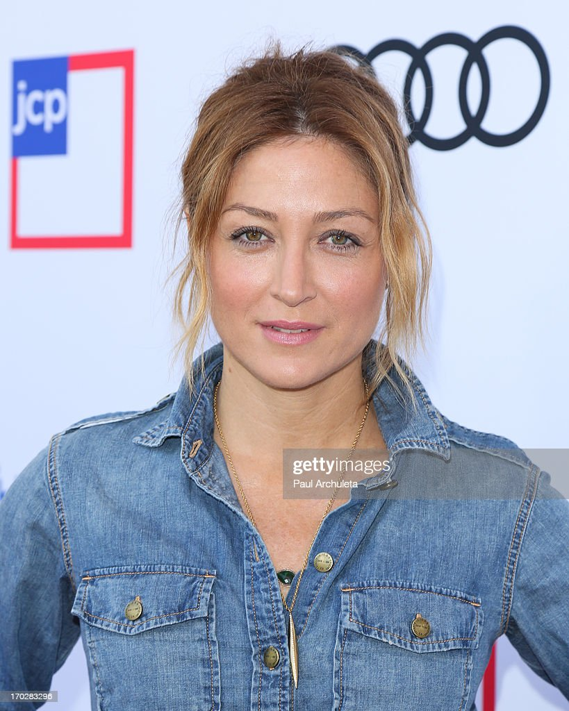 Actress Sasha Alexander attends the 1st annual Children Mending Hearts Style Sunday on June 9, 2013 in Beverly Hills, California.