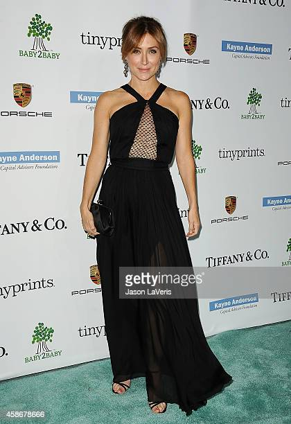 Actress Sasha Alexander attends the 2014 Baby2Baby gala at The Book Bindery on November 8 2014 in Culver City California