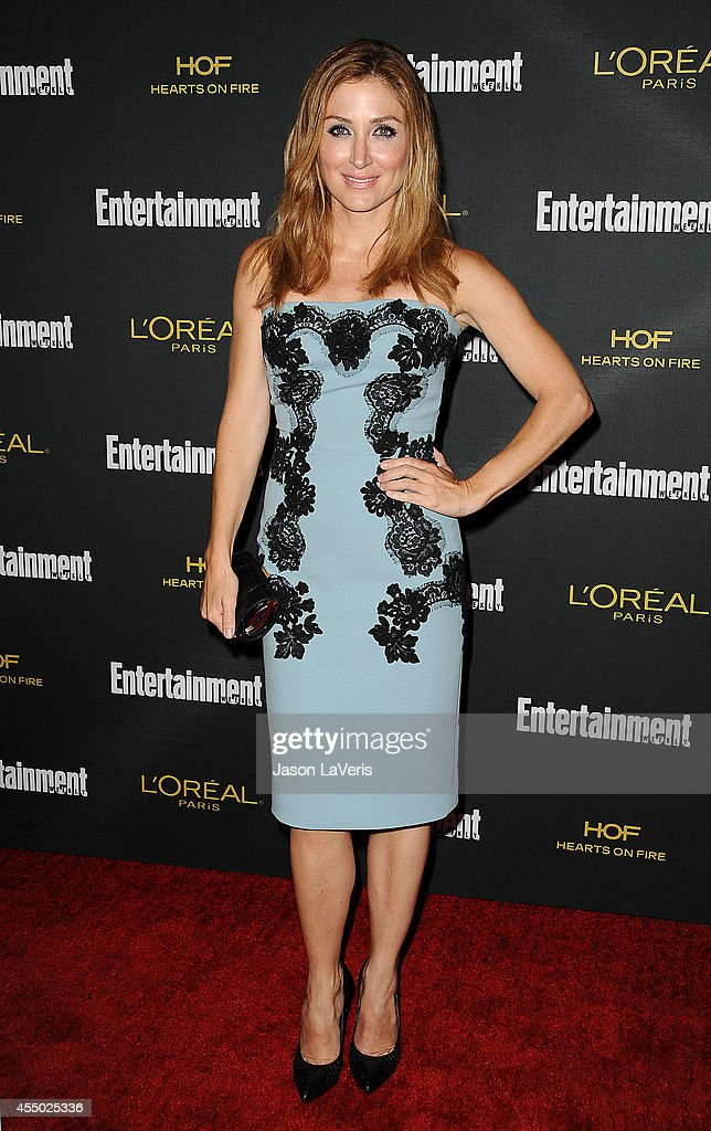 Actress <a gi-track='captionPersonalityLinkClicked' href=/galleries/search?phrase=Sasha+Alexander&family=editorial&specificpeople=215373 ng-click='$event.stopPropagation()'>Sasha Alexander</a> attends the 2014 Entertainment Weekly pre-Emmy party at Fig & Olive Melrose Place on August 23, 2014 in West Hollywood, California.