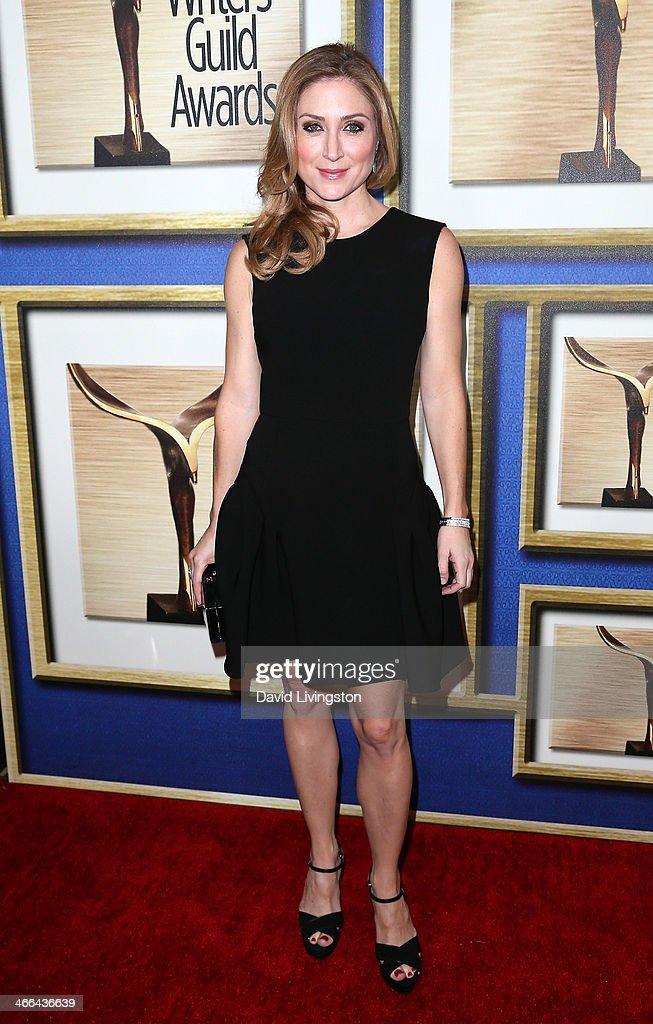 Actress <a gi-track='captionPersonalityLinkClicked' href=/galleries/search?phrase=Sasha+Alexander&family=editorial&specificpeople=215373 ng-click='$event.stopPropagation()'>Sasha Alexander</a> attends the 2014 Writers Guild Awards L.A. Ceremony at JW Marriott Los Angeles at L.A. LIVE on February 1, 2014 in Los Angeles, California.