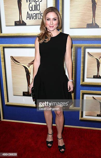 Actress Sasha Alexander attends the 2014 Writers Guild Awards LA Ceremony at JW Marriott Los Angeles at LA LIVE on February 1 2014 in Los Angeles...