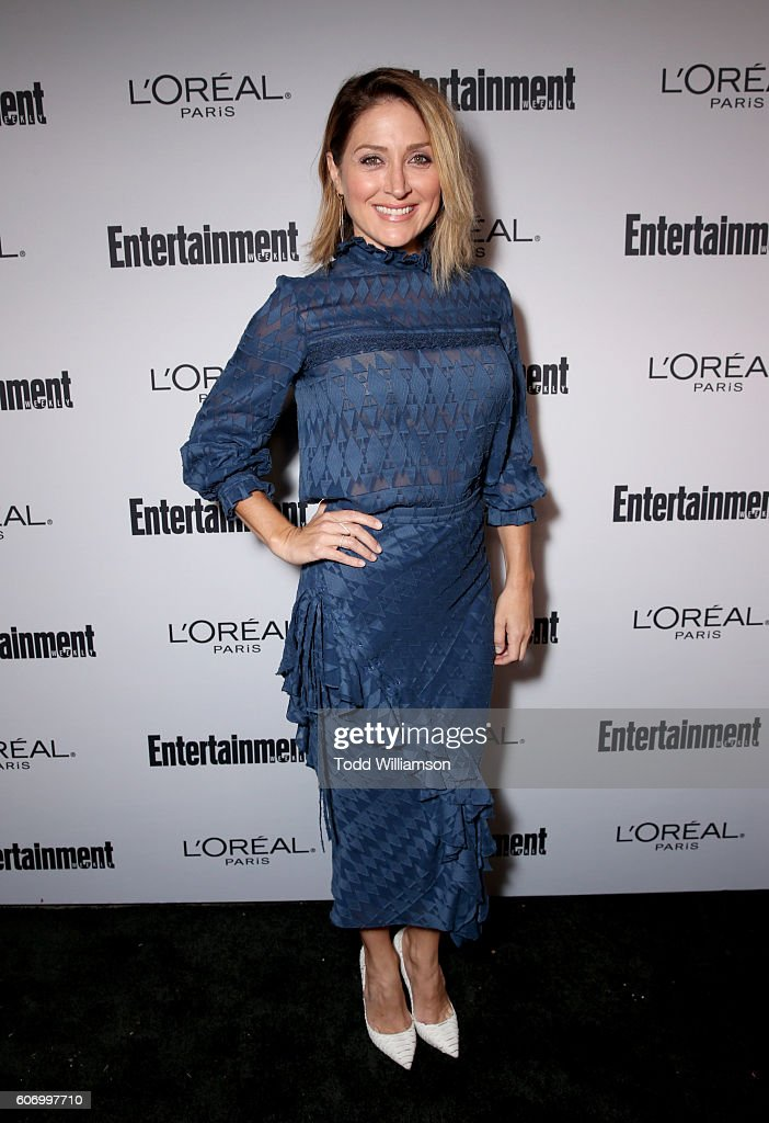 Actress Sasha Alexander attends the 2016 Entertainment Weekly Pre-Emmy party at Nightingale Plaza on September 16, 2016 in Los Angeles, California.
