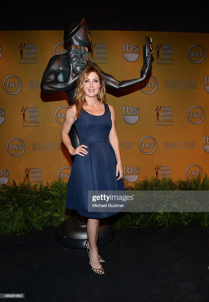 Actress <a gi-track='captionPersonalityLinkClicked' href=/galleries/search?phrase=Sasha+Alexander&family=editorial&specificpeople=215373 ng-click='$event.stopPropagation()'>Sasha Alexander</a> attends the 20th Annual Screen Actors Guild Awards Nominations Announcement at Pacific Design Center on December 11, 2013 in West Hollywood, California. 24092_002_0012.JPG