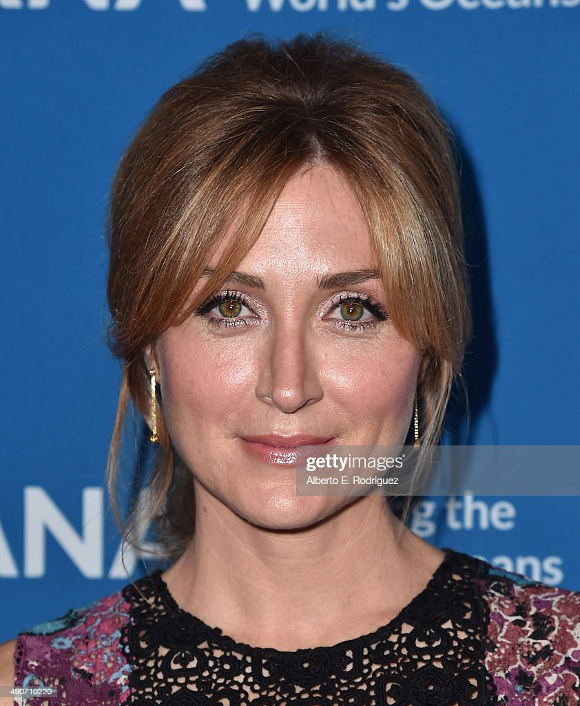 Actress Sasha Alexander attends the 'Concert For Our Oceans' hosted by Seth MacFarlane benefitting Oceana at The Wallis Annenberg Center for the Performing Arts on September 28, 2015 in Beverly Hills, California.