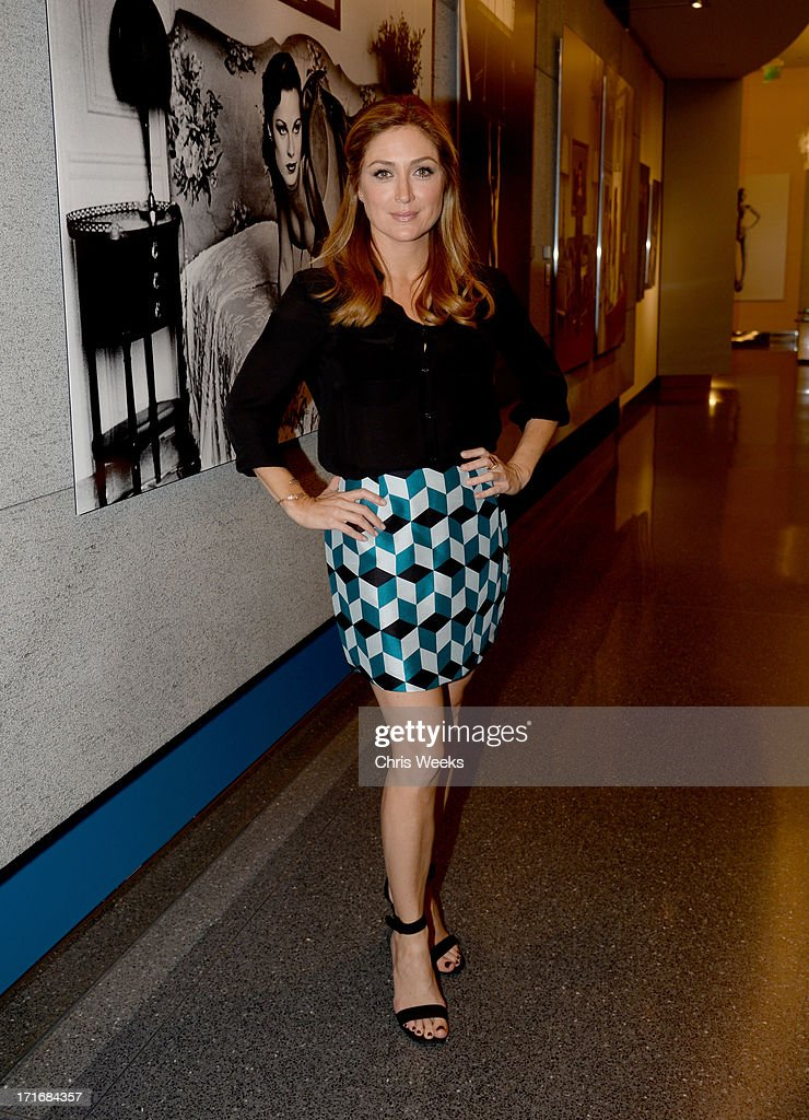 Actress <a gi-track='captionPersonalityLinkClicked' href=/galleries/search?phrase=Sasha+Alexander&family=editorial&specificpeople=215373 ng-click='$event.stopPropagation()'>Sasha Alexander</a> attends the Helmut Newton opening night exhibit at Annenberg Space For Photography on June 27, 2013 in Century City, California.