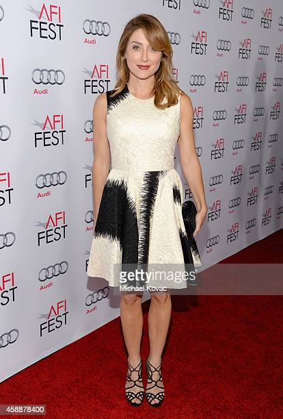 Actress Sasha Alexander attends the special tribute to Sophia Loren during the AFI FEST 2014 presented by Audi at Dolby Theatre on November 12 2014...
