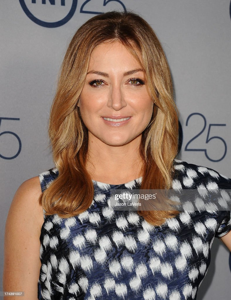 Actress <a gi-track='captionPersonalityLinkClicked' href=/galleries/search?phrase=Sasha+Alexander&family=editorial&specificpeople=215373 ng-click='$event.stopPropagation()'>Sasha Alexander</a> attends TNT's 25th anniversary party at The Beverly Hilton Hotel on July 24, 2013 in Beverly Hills, California.