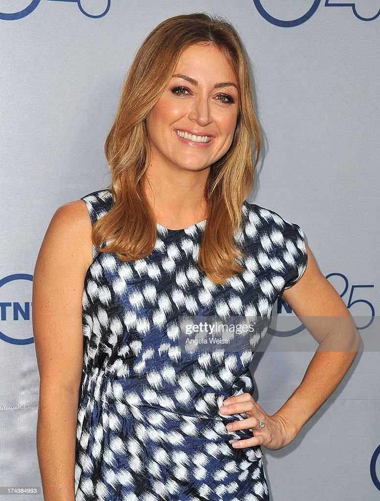 Actress Sasha Alexander attends TNT's 25th Anniversary Partyat The Beverly Hilton Hotel on July 24, 2013 in Beverly Hills, California.
