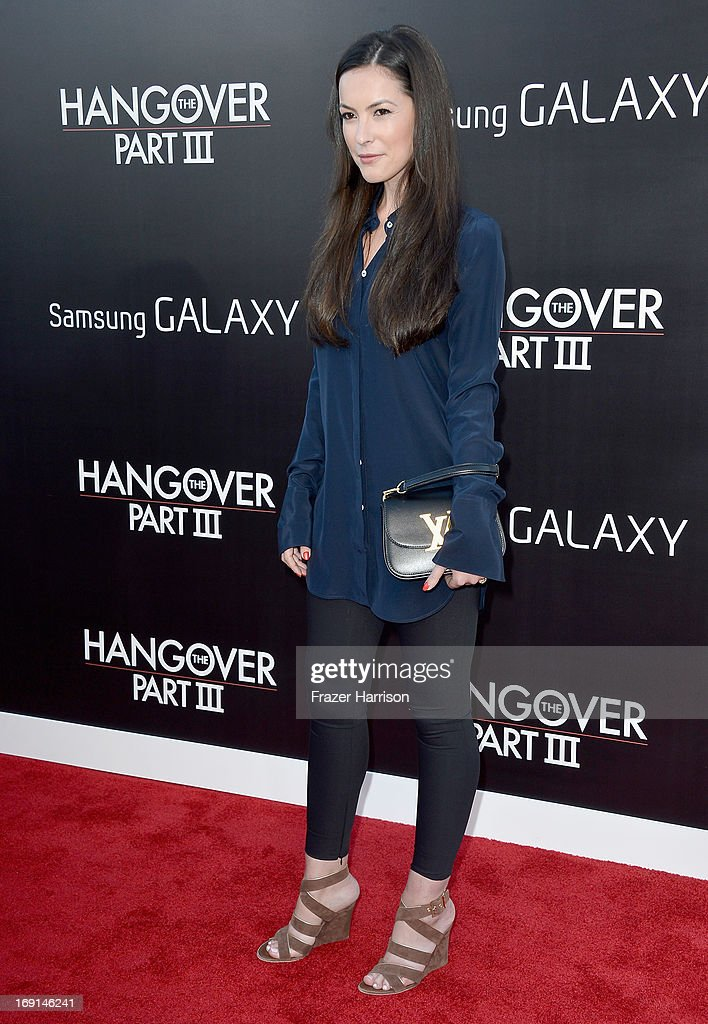 Actress Sasha Barrese attends the premiere of Warner Bros. Pictures' 'Hangover Part 3' at Westwood Village Theater on May 20, 2013 in Westwood, California.