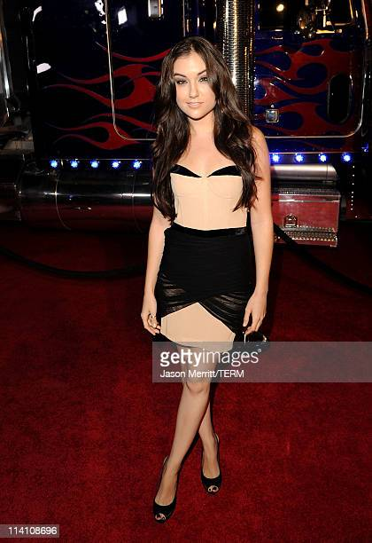 Actress Sasha Grey arrives at the 2011 Maxim Hot 100 Party with New Era Miller Lite 2ist and Silver Jeans Co held at Eden on May 11 2011 in Hollywood...