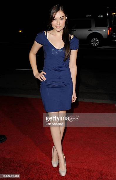 Actress Sasha Grey arrives at the Los Angeles Premiere '127 Hours' at AMPAS Samuel Goldwyn Theater on November 3 2010 in Beverly Hills California