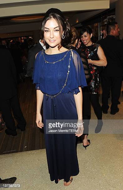 Actress Sasha Grey attends HBO's Post 2012 Golden Globe Awards Party at Circa 55 Restaurant on January 15 2012 in Beverly Hills California
