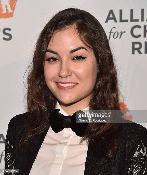 Actress Sasha Grey attends The Alliance For Children's Rights' Right To Laugh Benefit at The Avalon on May 27 2015 in Hollywood California