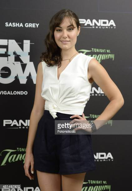 Actress Sasha Grey attends the 'Open Windows' photocall at User on June 30 2014 in Madrid Spain