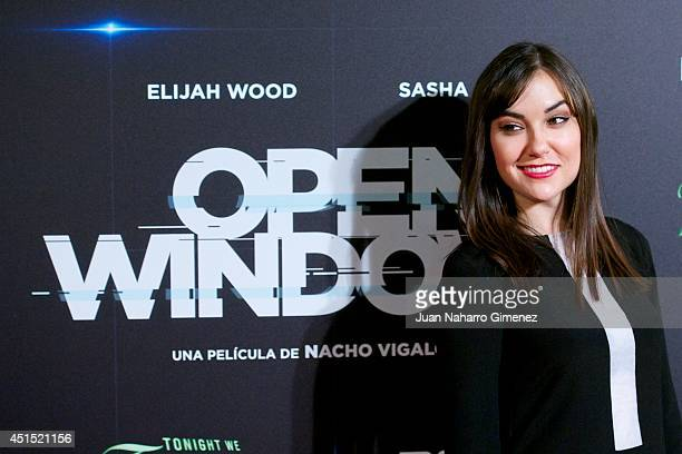Actress Sasha Grey attends the 'Open Windows' premiere at Capitol Cinema on June 30 2014 in Madrid Spain