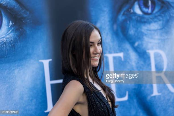 Actress Sasha Grey attends the Premiere Of HBO's 'Game Of Thrones' Season 7 at Walt Disney Concert Hall on July 12 2017 in Los Angeles California