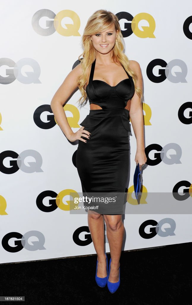 Actress Sasha Jackson arrives at GQ Celebrates The 2013 'Men Of The Year' at The Wilshire Ebell Theatre on November 12, 2013 in Los Angeles, California.