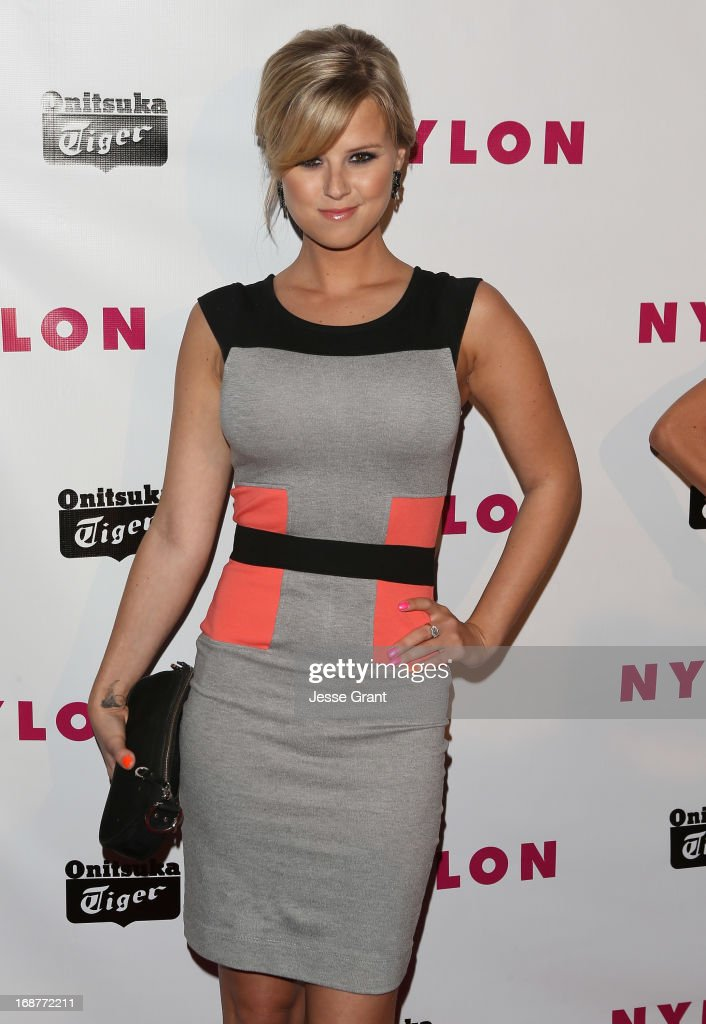 Actress Sasha Jackson attends the NYLON Magazine Annual May Young Hollywood Issue Party at The Roosevelt Hotel on May 14, 2013 in Hollywood, California.