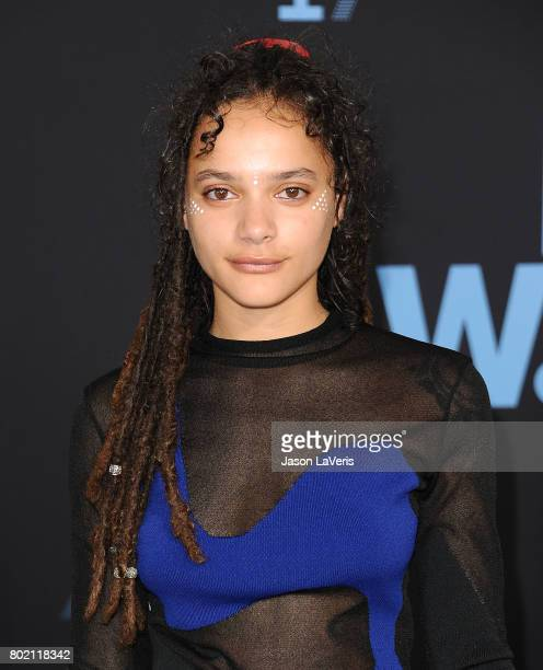 Actress Sasha Lane attends the 2017 BET Awards at Microsoft Theater on June 25 2017 in Los Angeles California