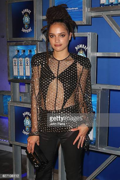 Actress Sasha Lane attends the 7th Annual Bombay Sapphire Artisan Series Finale hosted by Russell and Danny Simmons at 11 11 Road on December 1 2016...