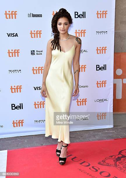 Actress Sasha Lane attends the 'American Honey' premiere during the 2016 Toronto International Film Festival at Ryerson Theatre on September 11 2016...