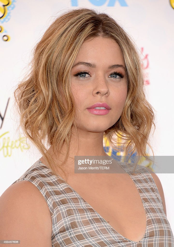Actress Sasha Pieterse attends FOX's 2014 Teen Choice Awards at The Shrine Auditorium on August 10, 2014 in Los Angeles, California.