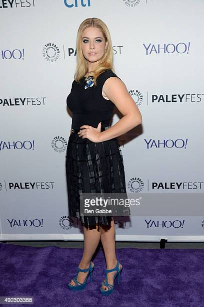 Actress Sasha Pieterse attends PaleyFest New York 2015 for 'Pretty Little Liars' at The Paley Center for Media on October 11 2015 in New York City