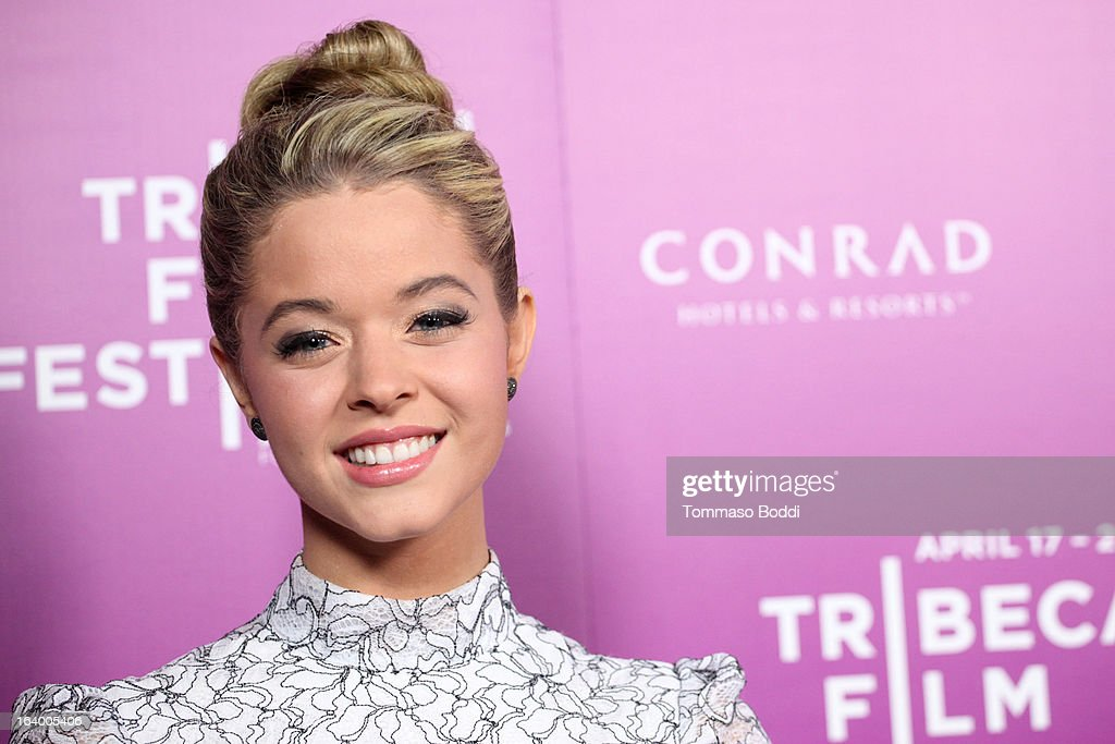 Actress Sasha Pieterse attends the 5th annual Tribeca Film Festival 2013 LA reception held at The Beverly Hilton Hotel on March 18, 2013 in Beverly Hills, California.