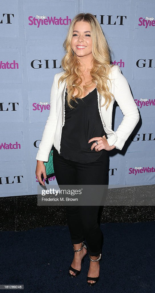 Actress <a gi-track='captionPersonalityLinkClicked' href=/galleries/search?phrase=Sasha+Pieterse&family=editorial&specificpeople=2237740 ng-click='$event.stopPropagation()'>Sasha Pieterse</a> attends the People StyleWatch Denim Awards by GILT at the Palihouse on September 19, 2013 in West Hollywood, California.