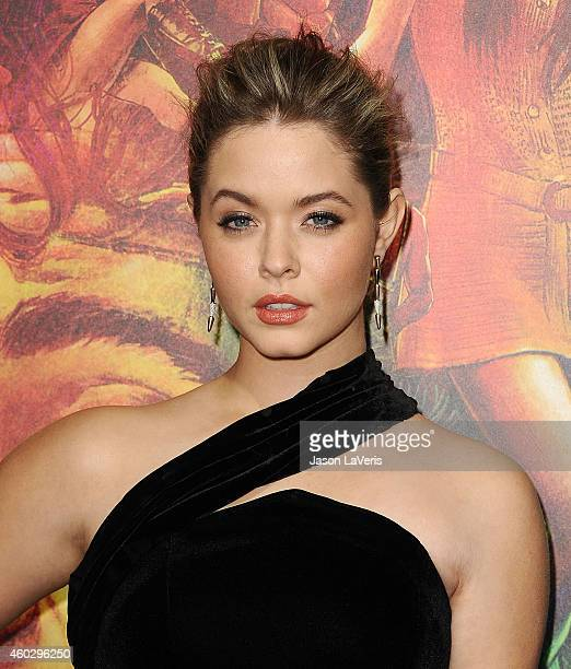 Actress Sasha Pieterse attends the premiere of 'Inherent Vice' at TCL Chinese Theatre on December 10 2014 in Hollywood California