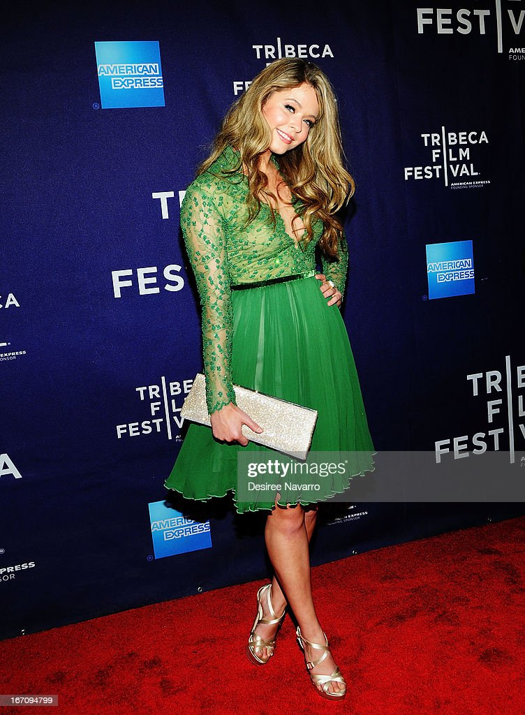 Actress Sasha Pieterse attends the screening of 'G.B.F.' during the 2013 Tribeca Film Festival at Chelsea Clearview Cinemas on April 19, 2013 in New York City.