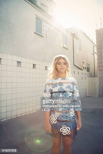 Actress Sasha Pieterse is photographed for The Untitled Magazine on January 27 2014 in Los Angeles California PUBLISHED IMAGE CREDIT MUST READ Indira...