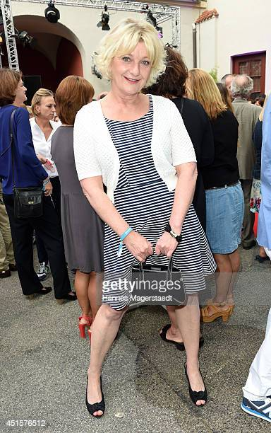 Actress Saskia Vester attends the Bavaria Reception at the Kuenstlerhaus as part of the Munich Film Festival 2014 on July 1 2014 in Munich Germany