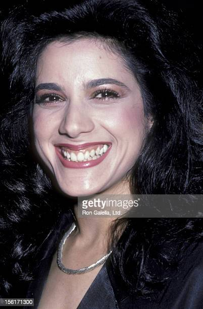 Actress Saundra Santiago attends the premiere party for 'Top Gun' on May 12 1986 at America in New York City