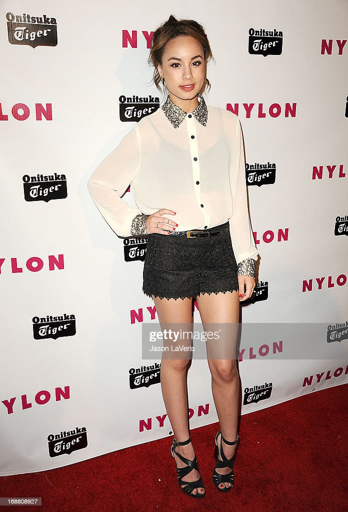 Actress Savannah Jayde attends Nylon Magazine's Young Hollywood issue event at The Roosevelt Hotel on May 14, 2013 in Hollywood, California.
