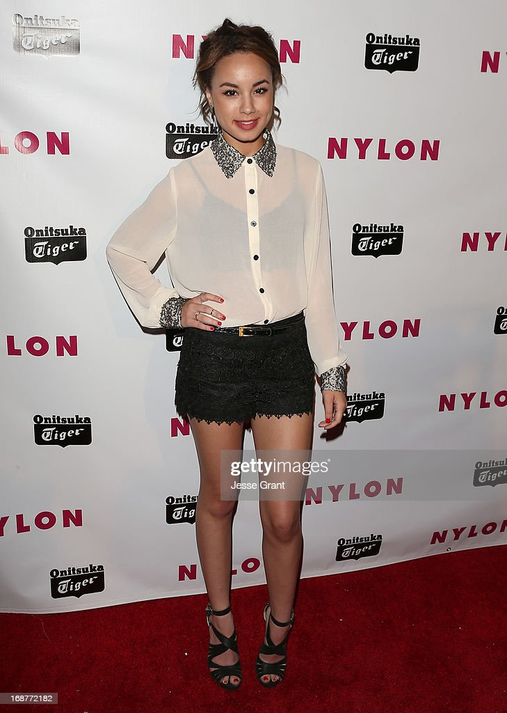 Actress Savannah Jayde attends the NYLON Magazine Annual May Young Hollywood Issue Party at The Roosevelt Hotel on May 14, 2013 in Hollywood, California.