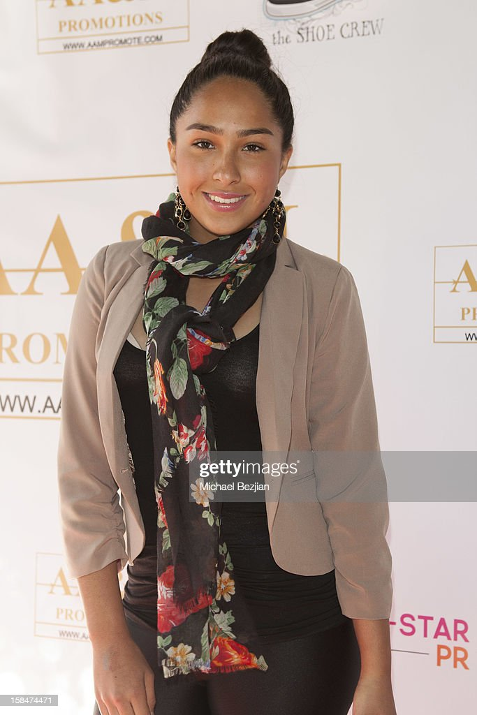 Actress Savannah Landell attends 'The Shoe Crew' Holiday Launch Party & Charity Benefit at The Joint on December 15, 2012 in Los Angeles, California.