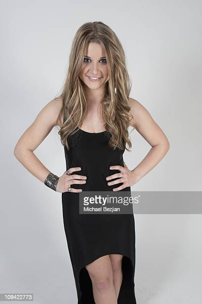 Actress Savannah Outen poses for portrait at the Children's Dream Awards Portraits For Children Uniting Nations By The PhotoFund on February 23 2011...