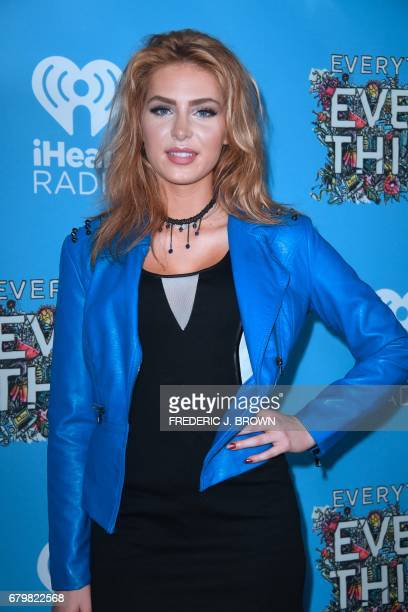 Actress Saxon Sharbino arrives for the premiere of the film 'Everything Everything' in Hollywood California on May 6 2017 J BROWN