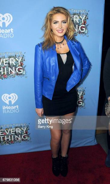 Actress Saxon Sharbino attends screening of Warner Bros Pictures' 'Everything Everything' at TCL Chinese Theatre on May 6 2017 in Hollywood California