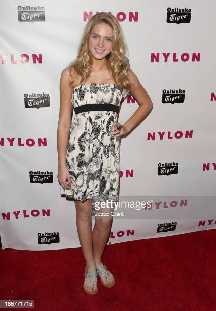 Actress Saxon Sharbino attends the NYLON Magazine Annual May Young Hollywood Issue Party at The Roosevelt Hotel on May 14 2013 in Hollywood California