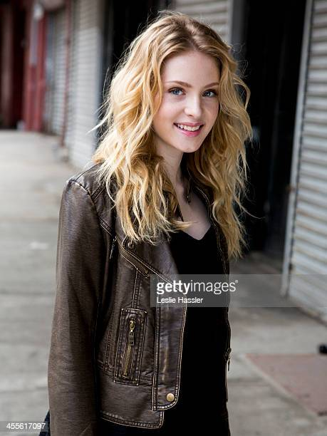 Actress Saxon Sharbino is photographed on April 19 2013 in New York City